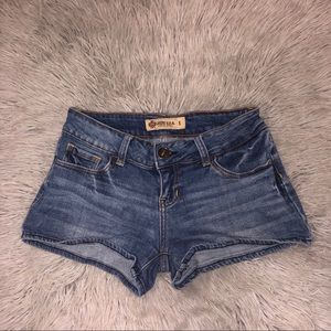 Just U.S.A Booty Jean Shorts